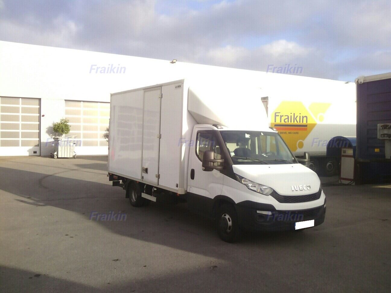 IVECO DAILY 35C13 FURGONE BOX